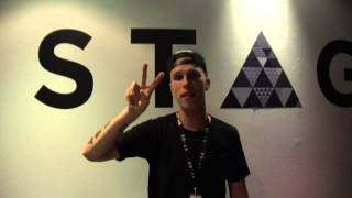 Watch the interview at Stage with Nicky Romero - BH Mallorca June 25th 2015