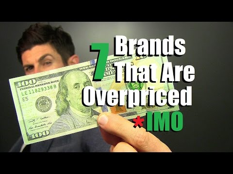 Thumbnail: 7 Clothing Brands That Are Overpriced IMO | Don't Waste Your Money IMO