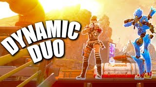 My First Win in the NEW Duos Game Mode! - PS4 Apex Legends