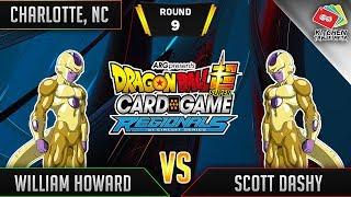Dragon Ball Super Card Game Gameplay [DBS TCG] Charlotte Regional Round 9
