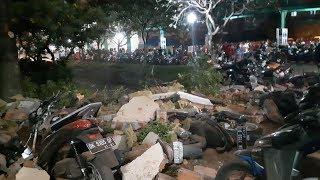 M7.0 quake jolts Indonesia's Lombok, tsunami warning lifted