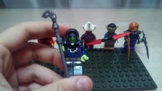 Лего бій з тінню 2 огляд на всіх босів з підземелля