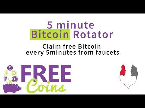 Free Coins - 5minute Bitcoin Rotator