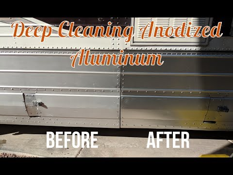 Deep Cleaning Anodized Aluminum
