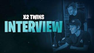 x2Twins Fortnite World Cup Q&A