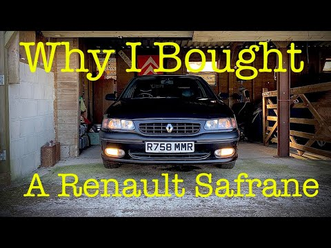 Why I Bought A 1998 Renault Safrane 2.0 Executive