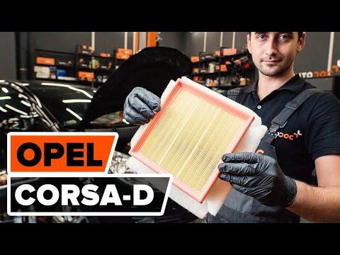 Как заменить воздушный фильтр двигателя на OPEL CORSA D [ВИДЕОУРОК AUTODOC]
