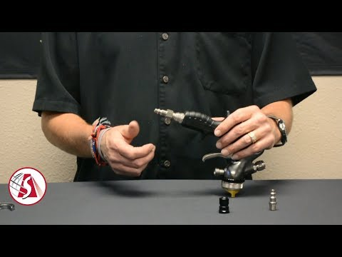 How to Convert Your Apollo 7500/7700 Spray Gun From Compressor to Turbine