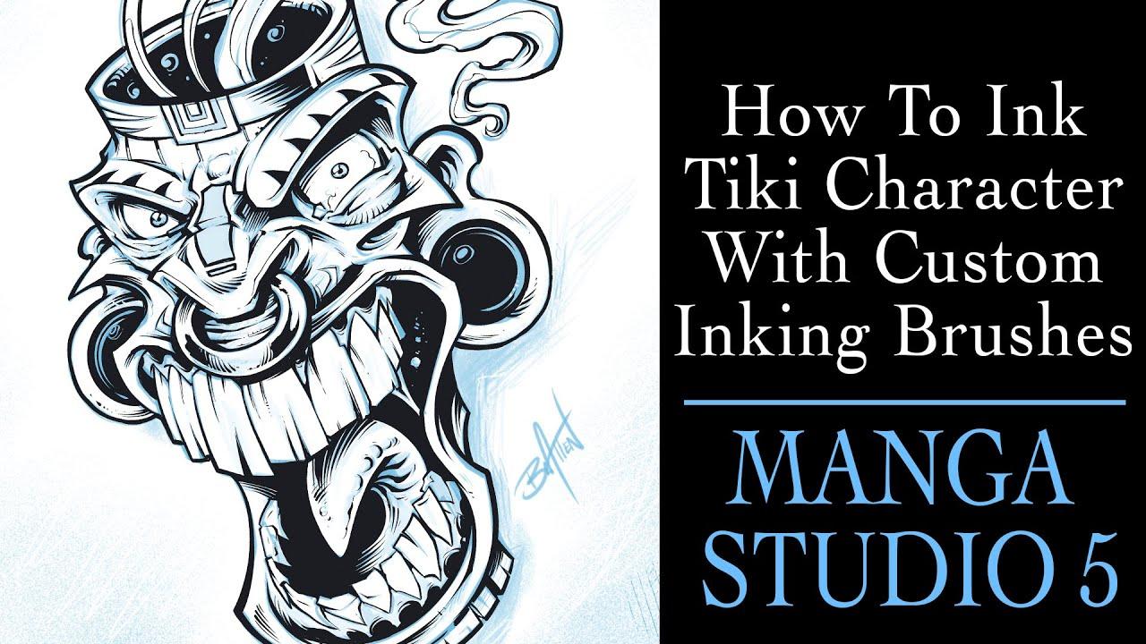 Inking - MakingComics.com