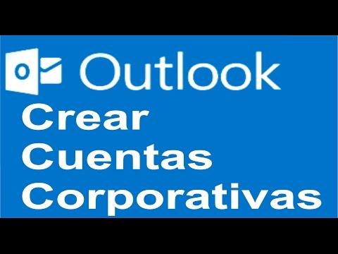 Crear Cuentas de Correo Corporativo  con Outlook.com o Hotmail