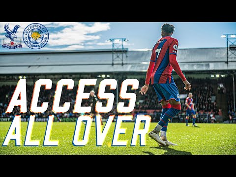 Michael Olise's first goal for Palace    ACCESS ALL Leicester