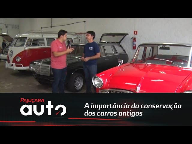A importância da conservação dos carros antigos
