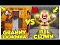 GRANNY LA NONNA CONTRO IT (PENNYWISE)! - Minecraft ITA