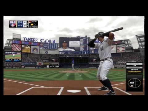 *MLB DEBUT* MLB The Show 17 RTTS  Yankees Third Baseman