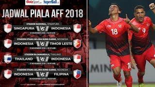 Jadwal Timnas Indonesia di Piala AFF 2018, Lawan Thailand Malah di Laga Away