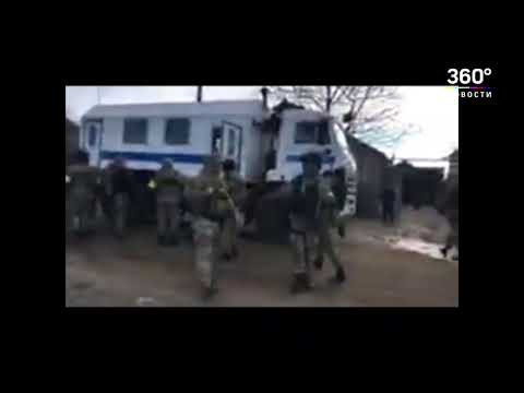 Оперативное видео ФСБ. Обыски у предполагаемых террористов в Крыму