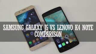 samsung galaxy j7 2016 vs lenovo vibe k4 note comparison
