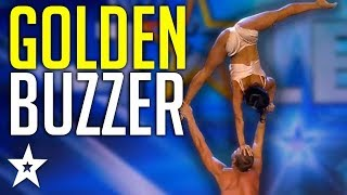 Stunning Acrobat Act Gets GOLDEN BUZZER On Spain's Got Talent 2019! | Got Talent Global