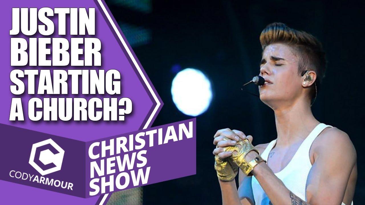 Justin Bieber Starting A Church? (Christian News Show) - YouTube