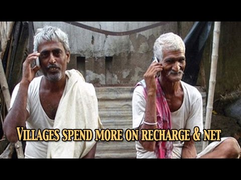 Rural India spend more on mobile internet and talk time  : NewspointTV