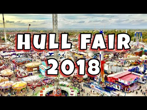 Hull Fair Vlog 13th October 2018