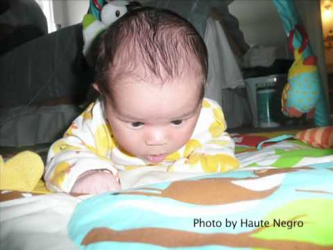 Healthy infant weight and motor development