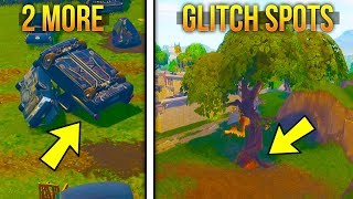 FORTNITE GLITCHES - 2 NEW DOPE GLITCH SPOTS ON FORTNITE BR - ( Best Glitches 2018 )