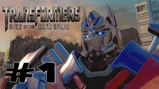 Transformers Rise of The Dark Spark - Walkthrough Part 1 Gameplay  - Transformers 4 Game