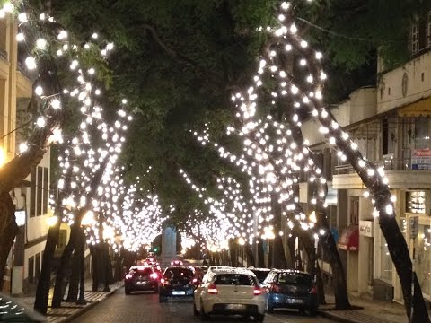 ILUMINAÇÕES DE NATAL FUNCHAL MADEIRA 2014 Christmas illuminations