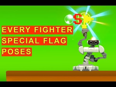 SSBU - All Fighters' Special Flag Poses (v3.1.0)