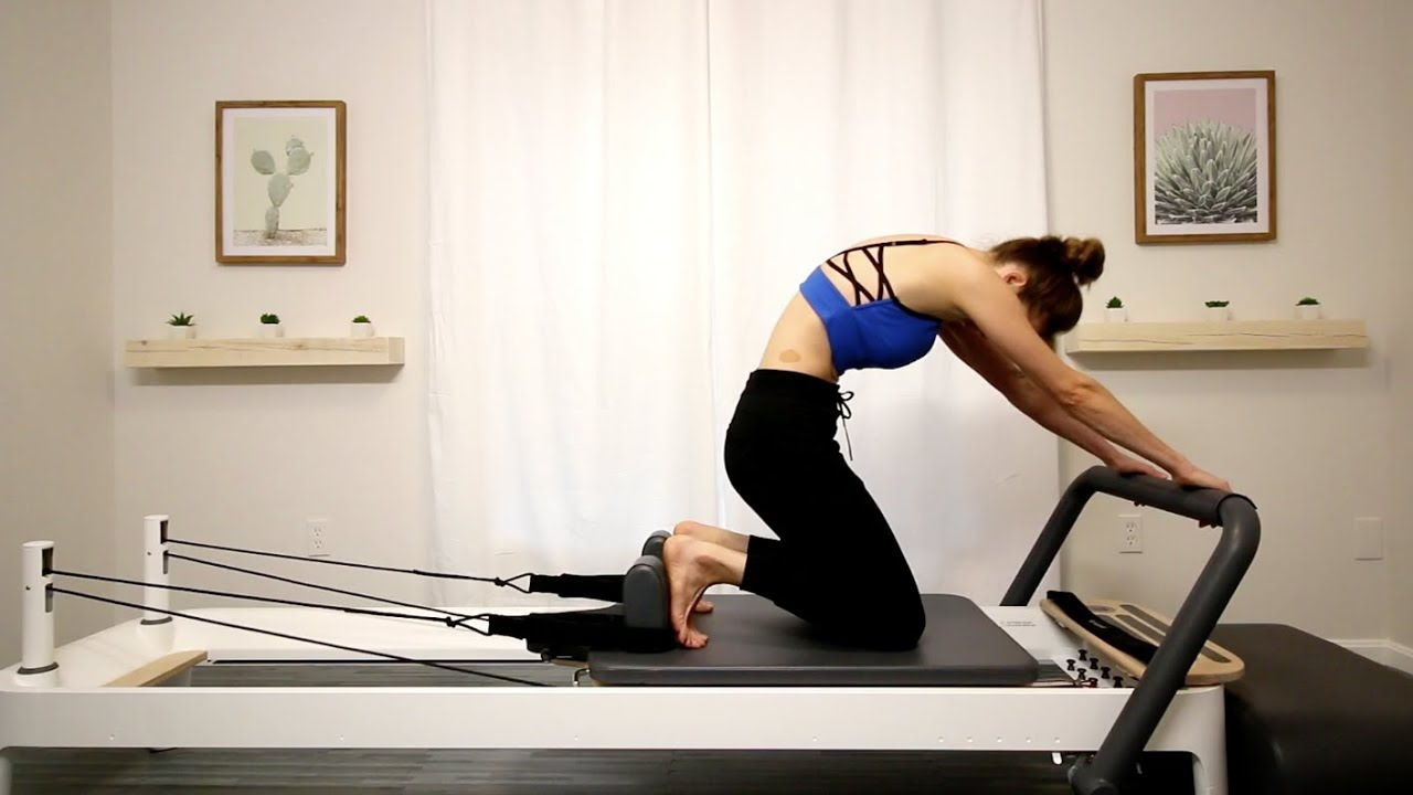 Pilates Reformer Beginner Class Part 1 Youtube