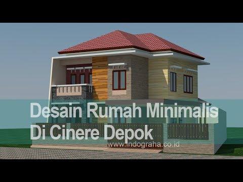 Desain Rumah Minimalis Yang Islami  desain rumah tinggal minimalis modern di cidodol kebayoran