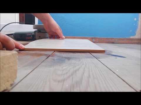 Как резать  плитку болгаркой (УШМ) без пыли