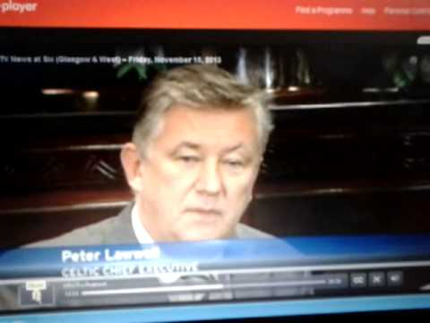 Lawell Squirming on STV News - YouTube