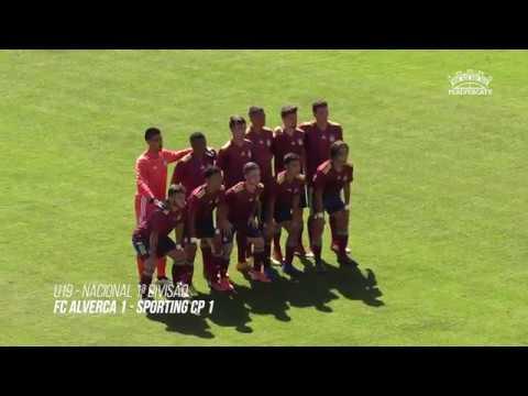 FC Alverca U19 vs Sporting CP U19 - Highlights