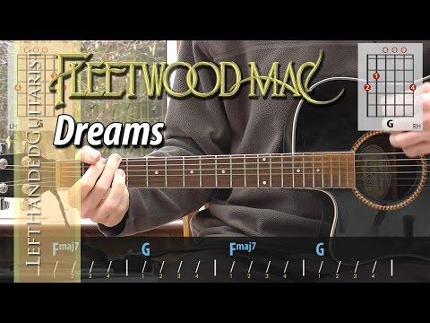 Fleetwood Mac - Dreams acoustic guitar lesson