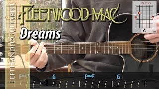 Fleetwood Mac - Dreams acoustic guitar lesson