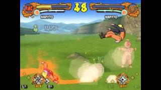 nine tail fox vs naruto ultimate ninja 4 naruto shippuuden