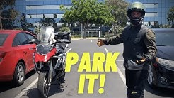 How To Park A Motorcycle For Beginner Riders ~ MotoJitsu