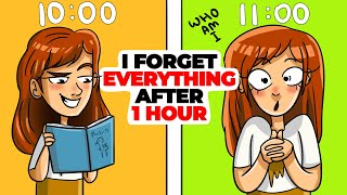 I Forget Everything Each 1 Hour | Animated Story about Memory
