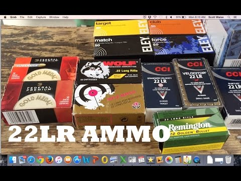 22 Long Rifle Ammunition Challenge ( 22 LR )
