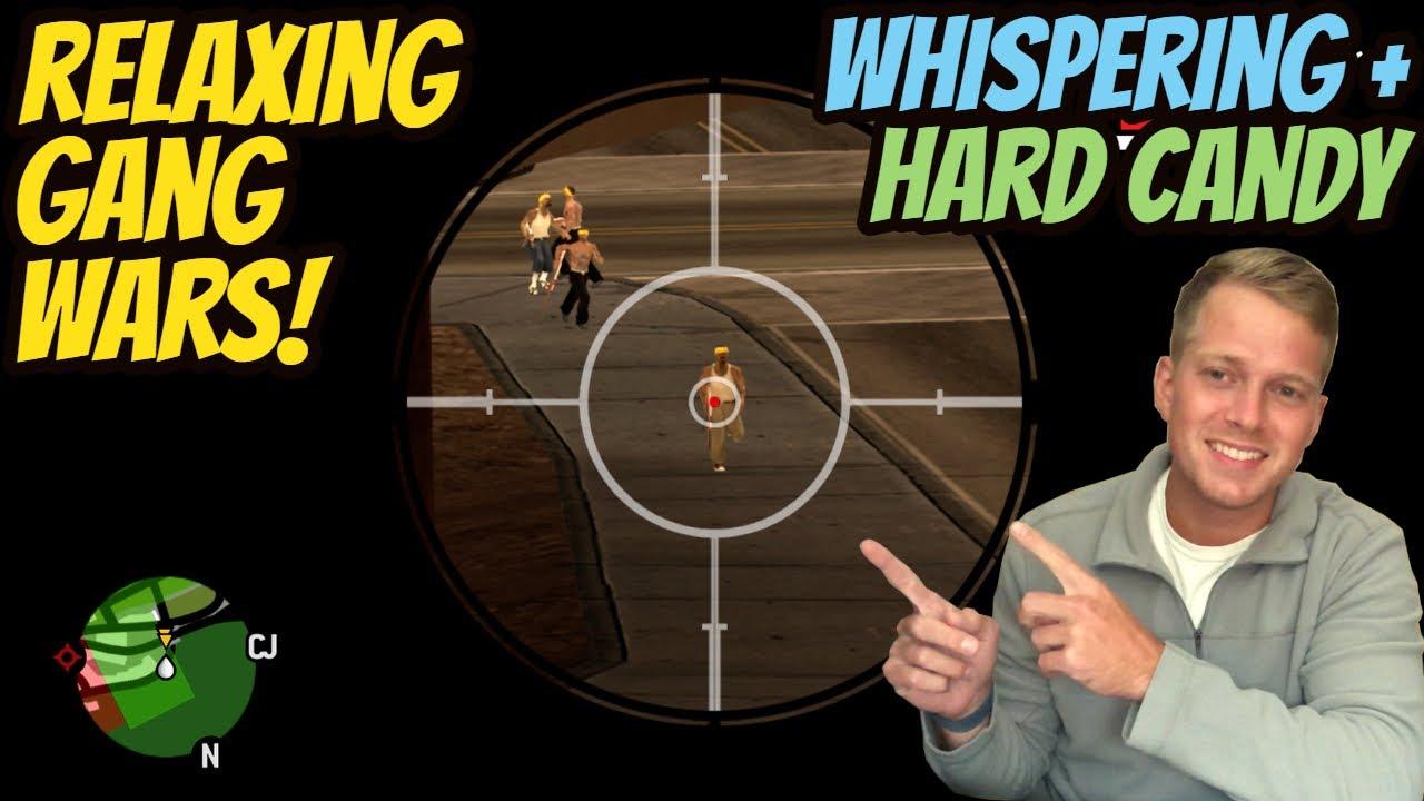 ASMR Gaming: GTA San Andreas | Relaxing Gang Wars! - Hard Candy & Whispering - TBT ep 77