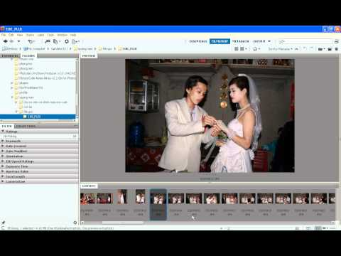 Photoshop CS4 - Phan 1 - Bai 13 - Xu ly anh tiec hang loat voi BR