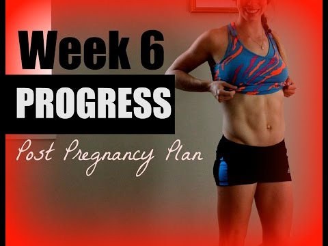 6 Week Before & After Postpartum | GlowBodyPT Post Pregnancy Plan
