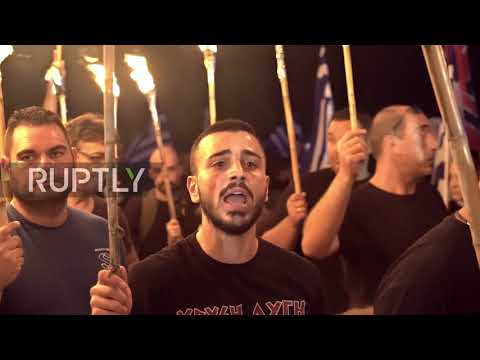 Greece: Golden Dawn rally commemorates battle of Thermopylae