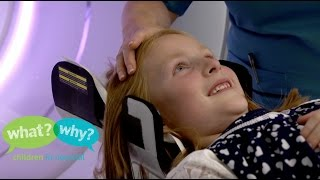 What happens when my child has a CT scan?