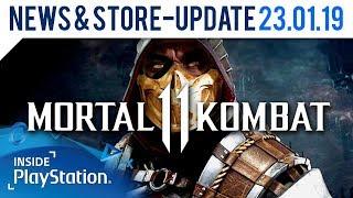 Mortal Kombat 11 kehrt zurück zu den Wurzeln | PlayStation News & Store Update