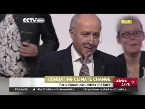 Paris climate pact enters into force