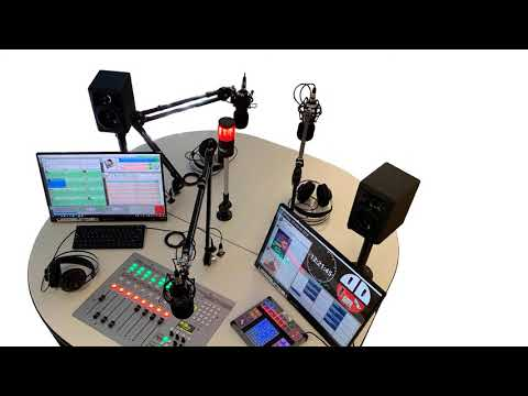 Broadcast Radio working with AEQ and Dante AoIP technology