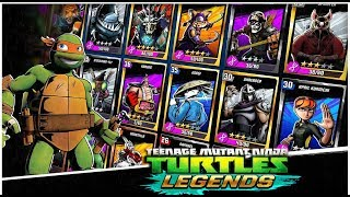 ЧЕРЕПАШКИ НИНДЗЯ ЛЕГЕНДЫ - СОСТАВЫ ПОДПИСЧИКОВ - НОВЫЕ СЕРИИ (мобильная игра) видео TMNT Legends